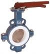 Клапан дроссельная заслонка / ручной / для воды / пластинка