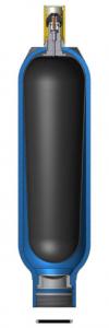 Гидроаккумуляторы EBV со сменным баллоном
