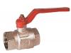 Клапан со сферическим золотником / ручной / для контроля / полнопоточный