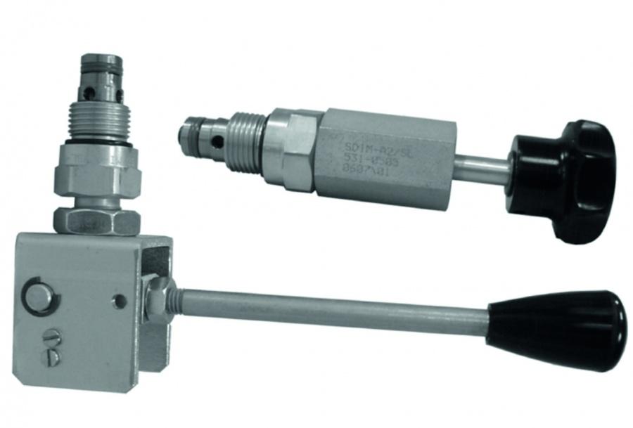 2/2 линейный клапан с ручным управлением SD1M-A2/S