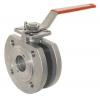 Клапан со сферическим золотником / с рычагом / для контроля / с фланцем