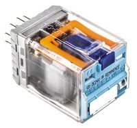 DPDT Plug In Latching Relay 10 A, 24V dc