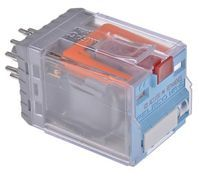 DPDT Plug In Latching Relay 10 A, 115V ac For Use In Power Applications