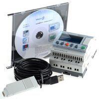 Crouzet Millenium 3 Logic Module Starter Kit, 24 V dc, 8 x Input, 4 x Output With Display