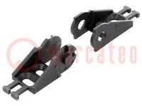 Bracket; Series: Light; Application: for cable chain