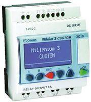 Crouzet CD12 Logic Control Computer, Operating Panel Interface, 120 (Ladder) lines, 350 (FBD) blocks Program Capacity