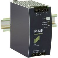 PULS CT10.241 Dimension DIN Rail Power Supply 24V DC 10A 240W 3-Phase
