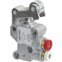 Univer AI-9100 Pneumatic Roller Lever Switch - 3/2 N/C 4mm Push Fit